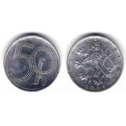 (3.2) República Checa. 2006. 50 Haleru (SC)