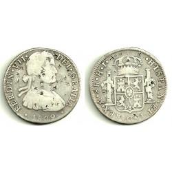 Fernando VII. 1809. 8 Reales (MBC) (Plata) Ceca de Mejico HJ