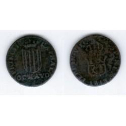 Fernando VII. 1813. Ochavo (RC) Ceca de Cataluña