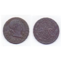 Fernando VII. 1829. 2 Maravedí (MBC) Ceca de Segovia