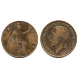 (810) Gran Bretaña. 1913. 1 Penny (BC)