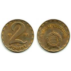 (591) Hungria. 1981. 2 Forint (BC)