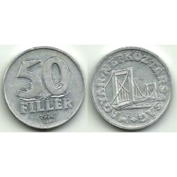 (574) Hungria. 1976. 50 Filler (BC)