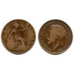 (810) Gran Bretaña. 1915. 1 Penny (BC)