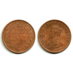 (512) India Británica. 1917. ¼ Anna (BC)