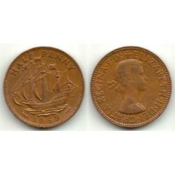 (896) Gran Bretaña. 1959. Half Penny (MBC)