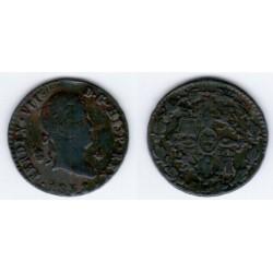 Fernando VII. 1832. 4 Maravedí (MBC) Ceca de Segovia