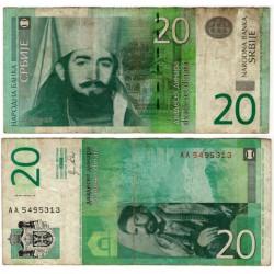 (55) Serbia. 2011. 20 Dinara (BC+)