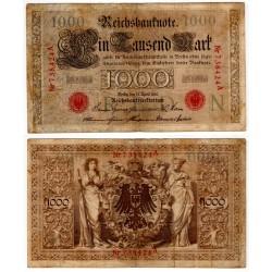 (44a) Imperio Alemán. 1910. 1000 Mark (BC)