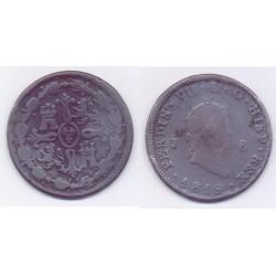 Fernando VII. 1819. 8 Maravedí (BC) Ceca de Jubia