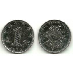 China. 2016. 1 Yuan (SC)