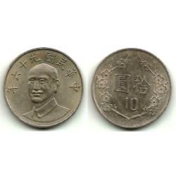 (Y553) China. 1980(69). 10 Yuan (MBC)
