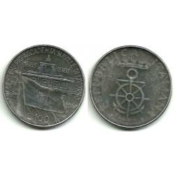 (108) Italia. 1981. 100 Lira (MBC)