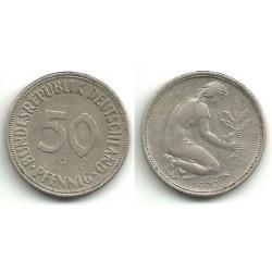 (109.1) Alemania. 1970(G). 50 Pfennig (MBC)