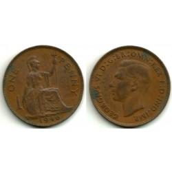(845) Gran Bretaña. 1946. 1 Penny (MBC)