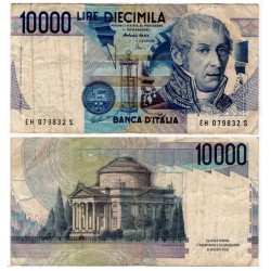 (112d) Italia. 1984. 10000 Lira (MBC-)