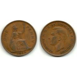 (845) Gran Bretaña. 1945. 1 Penny (BC)