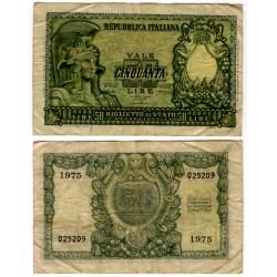 (91a) Italia.1951. 50 Lira (BC)