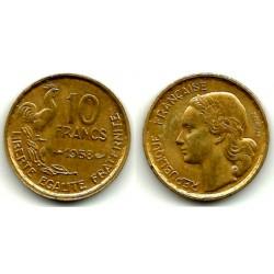 (915.1) Francia. 1958. 10 Francs (EBC+)