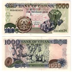 (32i) Ghana. 2003. 1000 Cedis (SC)
