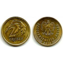 Polonia. 2014. 2 Grosze (EBC)