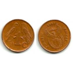 (221) Sudáfrica. 2001. 1 Cent (MBC)