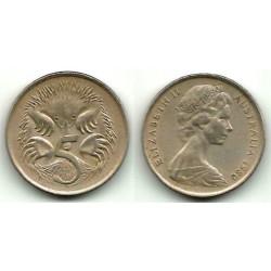 (64) Australia. 1980. 5 Cents (BC)