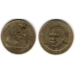 (34) Tanzania. 1998. 200 Shillingi (EBC)