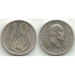 (94) Sudáfrica. 1976. 10 Cents (EBC)