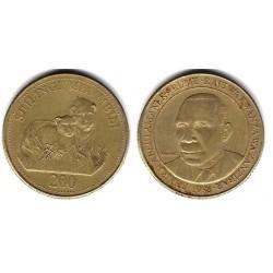 (34) Tanzania. 1998. 200 Shillingi (BC)
