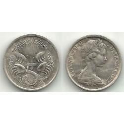 (64) Australia. 1982. 5 Cents (MBC+)