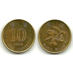 (66) Hong Kong, 1998. 10 Cents (EBC)