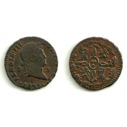 Fernando VII. 1832. 2 Maravedi (MBC) Ceca de Segovia