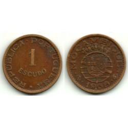 (82) Mozambique. 1968. 1 Escudo (MBC)