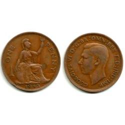 (845) Gran Bretaña. 1945. 1 Penny (MBC-)