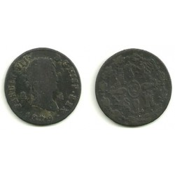 Fernando VII. 1829. 4 Maravedi (BC) Ceca de Segovia
