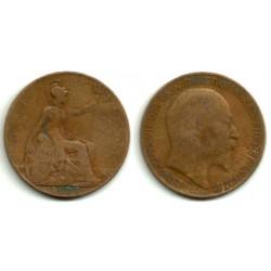 (794.2) Gran Bretaña. 1908. 1 Penny (BC)