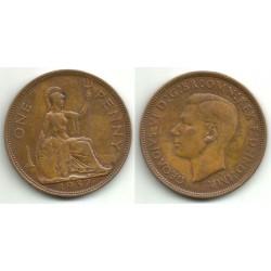 Gran Bretaña. 1937. 1 Penny (MBC)