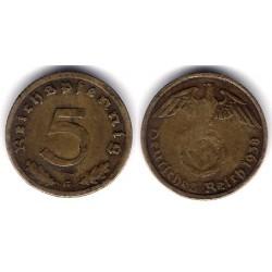 (91) Alemania (III Reich). 1938(G). 5 Pfennig (BC)