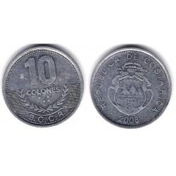 (228b) Costa Rica. 2008. 10 Colones (MBC)