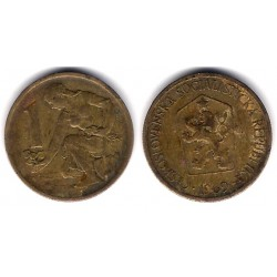 (50) Checoslovaquia. 1969. 1 Koruna (BC)