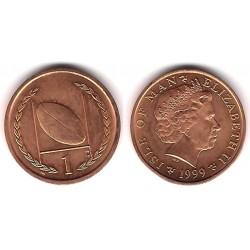 (823.2) Isla de Man. 1999. 1 Penny (SC)