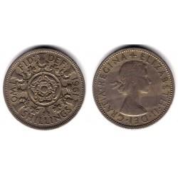 (906) Gran Bretaña. 1961. 2 Shillings (BC)