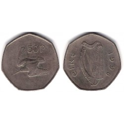 (24) Irlanda. 1998. 50 Pence (MBC-)