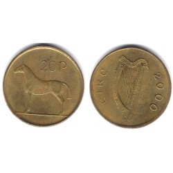 (25) Irlanda. 2000. 20 Pence (MBC)