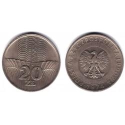 (Y67) Polonia. 1973. 20 Zlotych (MBC)