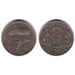 (12) Letonia. 1992. 1 Lats (MBC)
