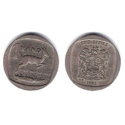 (164) Sudáfrica. 1997. 1 Rand (BC+)