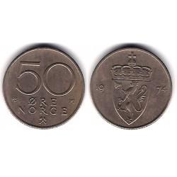 (418) Noruega. 1974. 50 Ore (MBC)