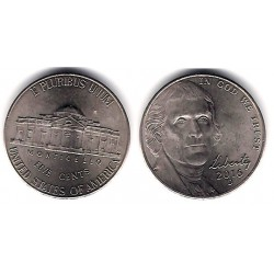 Estados Unidos de América. 2016(D). 5 Cents (EBC+)